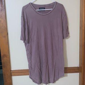 PacSun Shirts - Men's : pac sun long scalloped shirt